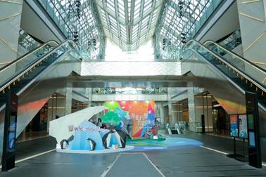 北京环球金融中心2020年环保艺术展正式启幕