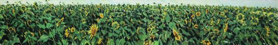 许江《生如夏花》布面油画 50x300cm 2014