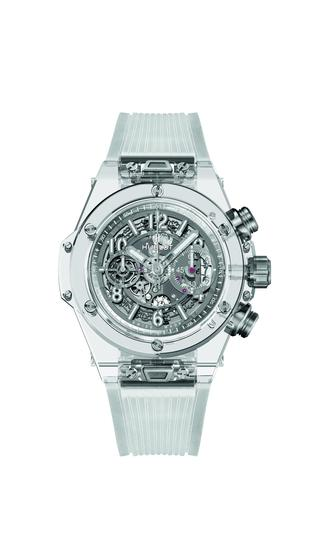 HUBLOT宇舶表Big Bang Unico藍寶石腕錶