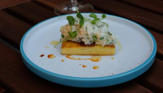 低温嫩鳕鱼配西班牙特色玉米饼