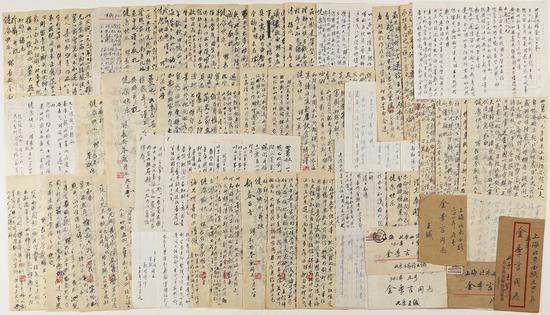 王世襄致金西厓有关整理出版《刻竹小言》全过程的重要信札三十四通   18万起拍,166.75万元成交。