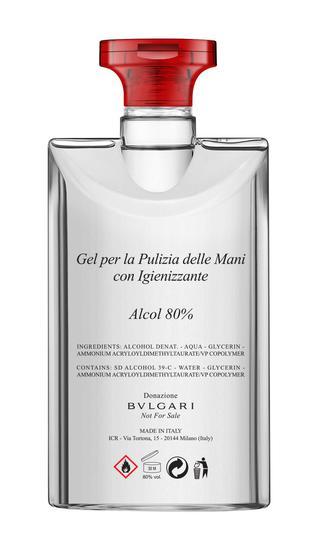 宝格丽生产并捐赠消毒洗手液 持续助力意大利政府共抗时疫