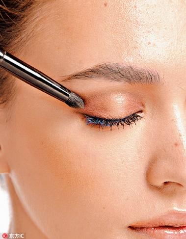 肿眼睛也可以用橘色!快点get这些技能!