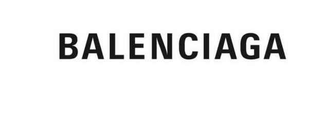"""新logo依然是一個由全部大寫字母拼成的""""BALENCIAGA"""""""