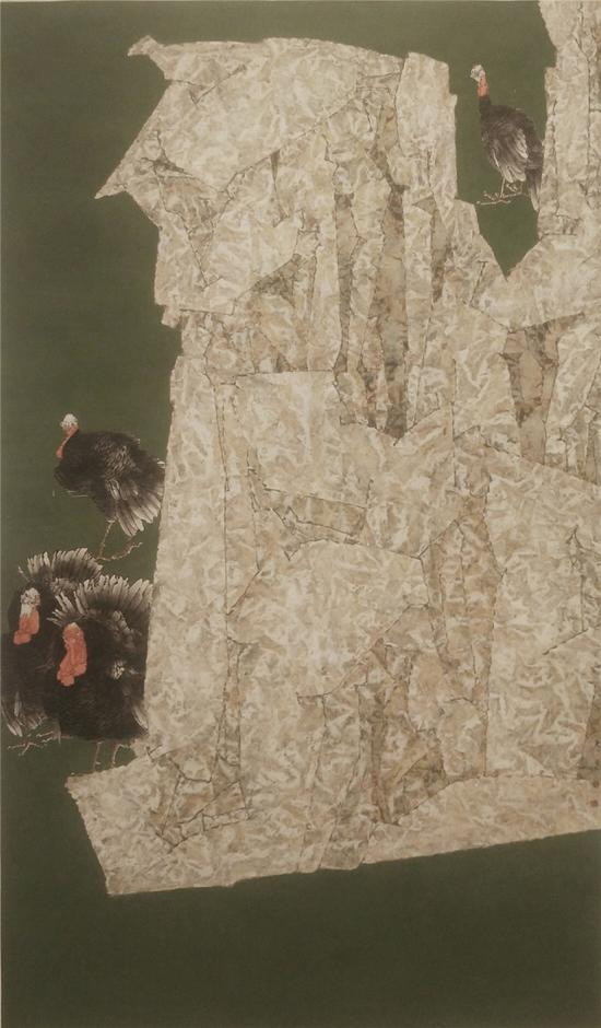 《春天里》获第三届中国民族美术双年展 入会资格 并在中国美术馆展出