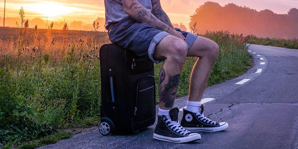 男生短裤究竟多短才合适?长度不要超过膝盖!
