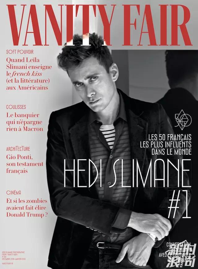 《名利场》杂志12月封面