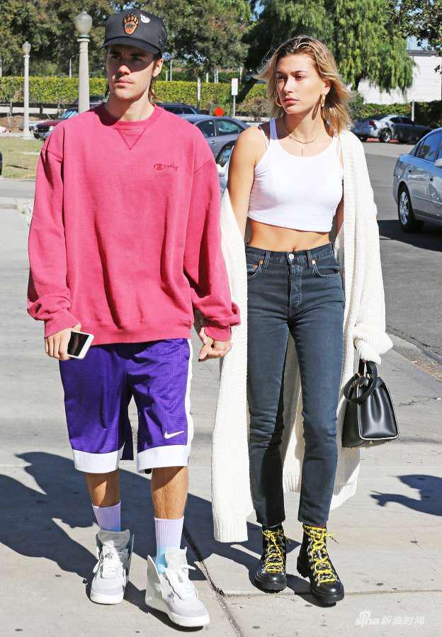 Justin Bieber与Hailey Baldwin