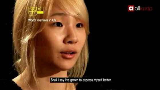 素颜出道时的CL