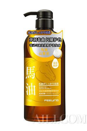 菲灵马油染烫修护洗发水