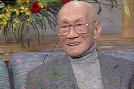 1990年林风眠接受NHK电视台访谈现场照