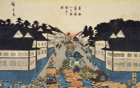 浮世繪風景畫與江戶名所
