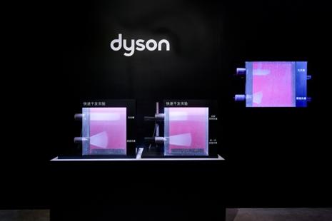 新一代戴森Supersonic™吹风机快速干发科技演示
