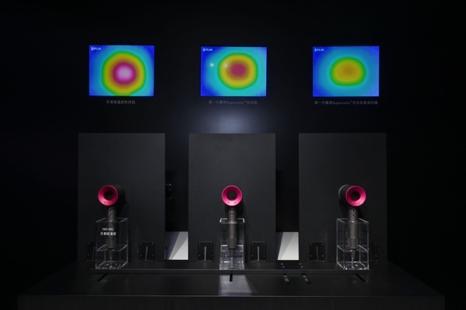 新一代戴森Supersonic™吹风机智能温控系统科技演示