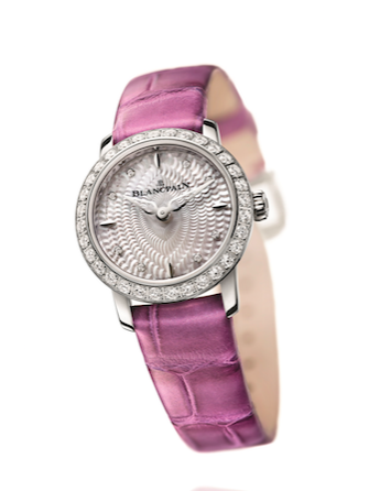 宝珀六十周年纪念版女装系列贵妇鸟腕表