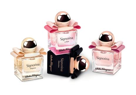 菲拉格慕Signorina迷你伊人女士系列香水上市