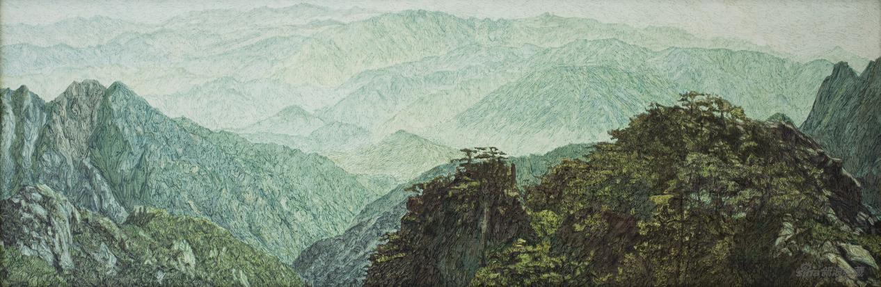 张子康馆长与策展人林梓对谈谭尚勤的油画创作