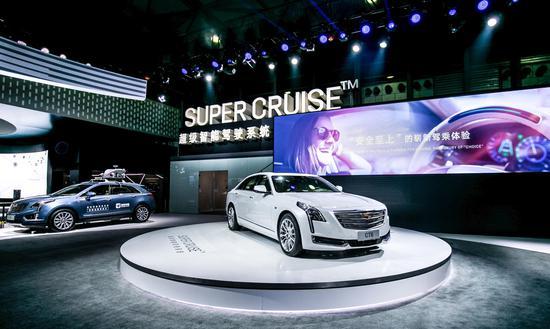 凯迪拉克Super CruiseTM超级智能驾驶系统正式中国发布