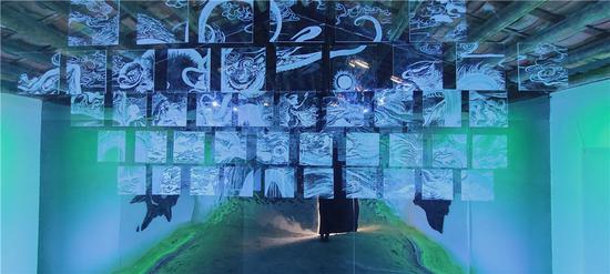 艺术家毛泽皓与艺术家曾臻的合作空间