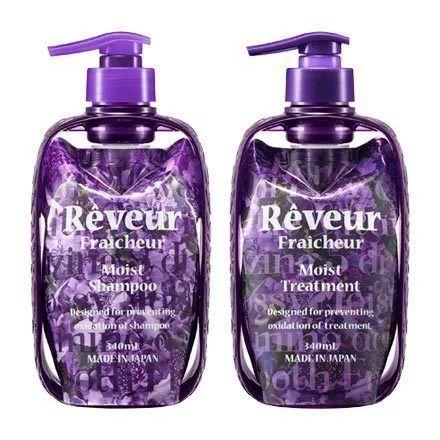 Reveur精油保湿无硅油洗&护(紫瓶)