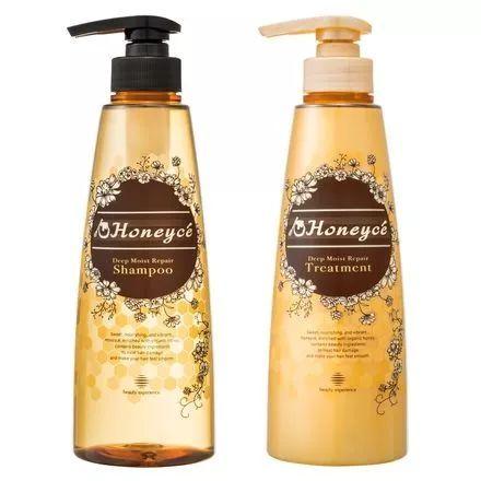 Honeyce蜂蜜氨基酸保湿无硅洗&护