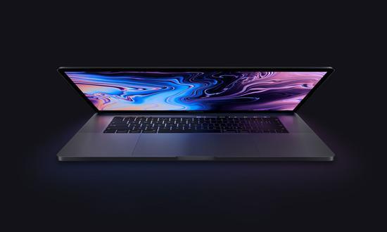 使用Intel第 8 代酷睿处理器的新款MacBook Pro