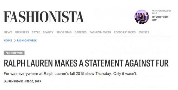 被时装编辑调侃的Ralph Laurent