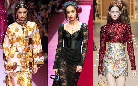 Dolce & Gabbana 秀场图