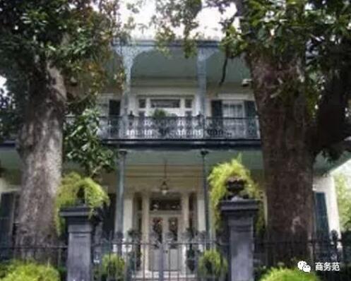其中一间新奥尔良房子