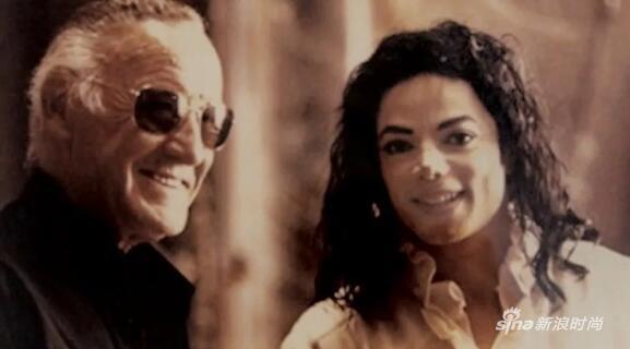Stan Lee&Michael Jackson
