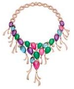 宝格丽Festa欢筵享宴高级珠宝系列色彩气球项链
