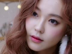 韩国最浪漫的雪花妆容 等待第一场雪