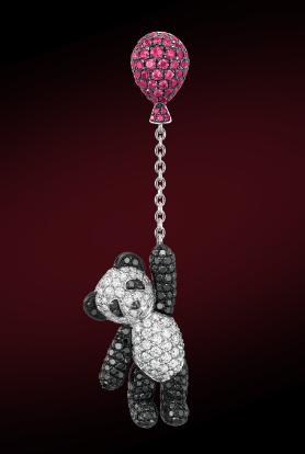 Qeelin珠宝BOBO系列耳坠