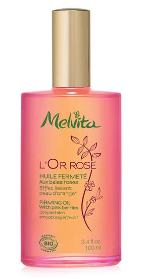 Melvita有机粉红胡椒紧致瘦身油