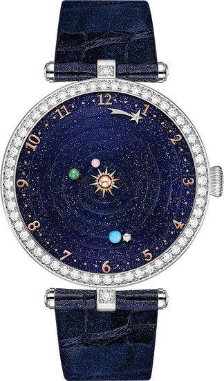 Van Cleef & Arpels梵克雅宝Lady Arpels Planétarium诗意复杂功能腕表