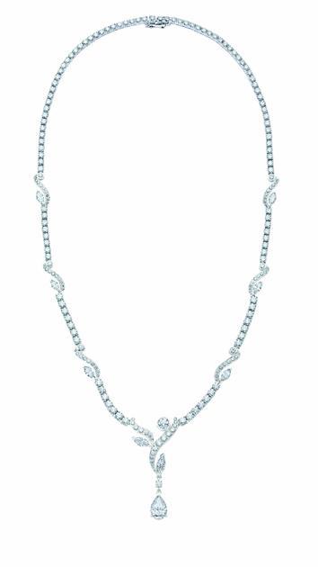 De Beers戴比尔斯Adonis Rose高级珠宝项链