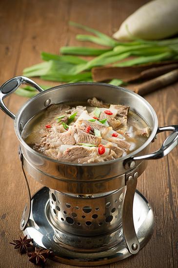 清汤枸杞冬菜牛肋腩