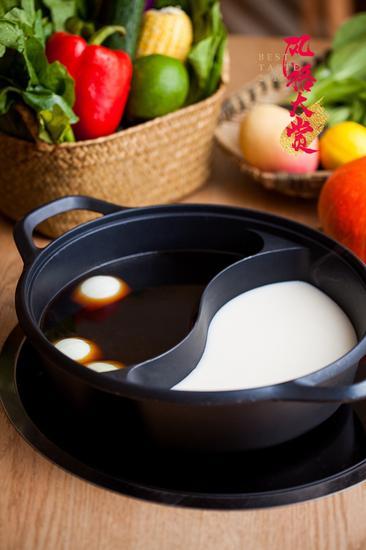 锅底:寿喜烧+豆乳锅