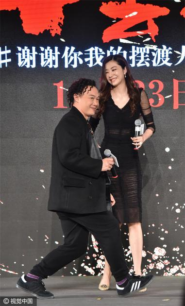 陈奕迅在熊黛林面前自降身高
