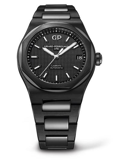 GP芝柏表黑色陶瓷「Laureato-42mm-Ceramic」_8101032631_32A