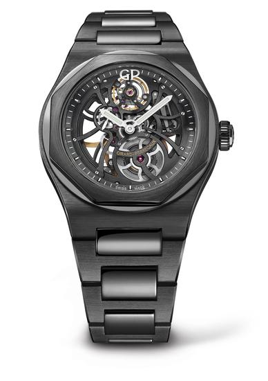 GP芝柏表黑色陶瓷「Laureato-Skeleton-Ceramic」_8101532001_32A