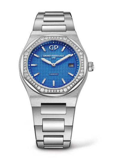 GP芝柏表精钢「Laureato-34-mm-Royalty」_80189D11A433_11A