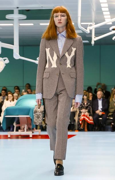 逾越了规范性纪律 形成了Gucci的时尚哲学