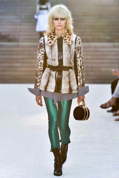 Louis Vuitton的豹纹细节夹克