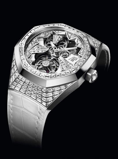 爱彼皇家橡树概念系列浮动式陀飞轮腕表