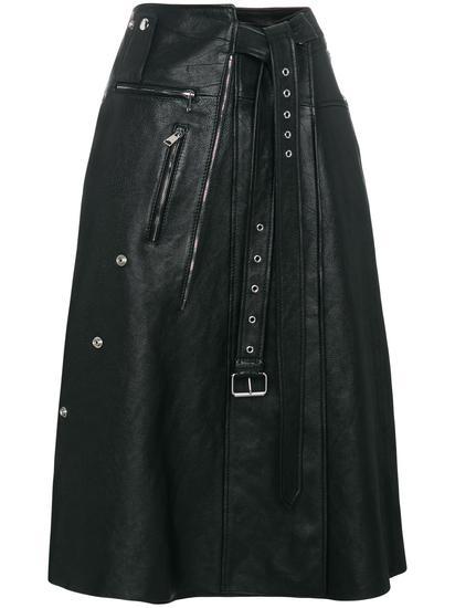 Alexander McQueen A字形半身裙 约¥33,832