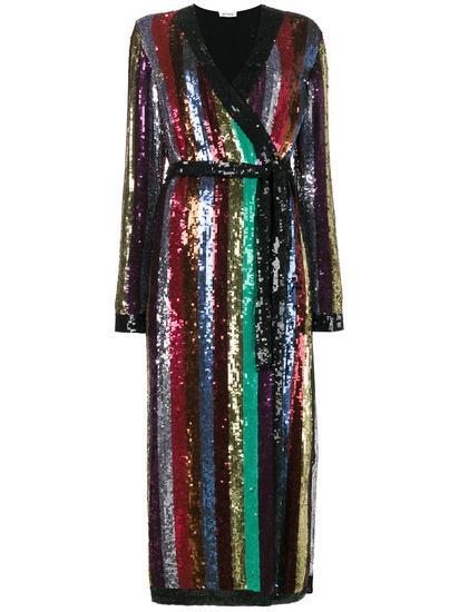 Attico 亮片镶嵌长款连衣裙 约 ¥15,320