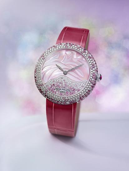 百达翡丽 Calatrava 高级珠宝腕表