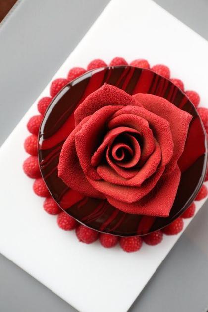 """""""倾城之恋""""巧克力蛋糕"""