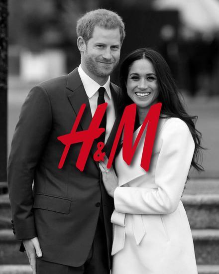 """英国王子和王妃作为H&M""""代言人"""""""